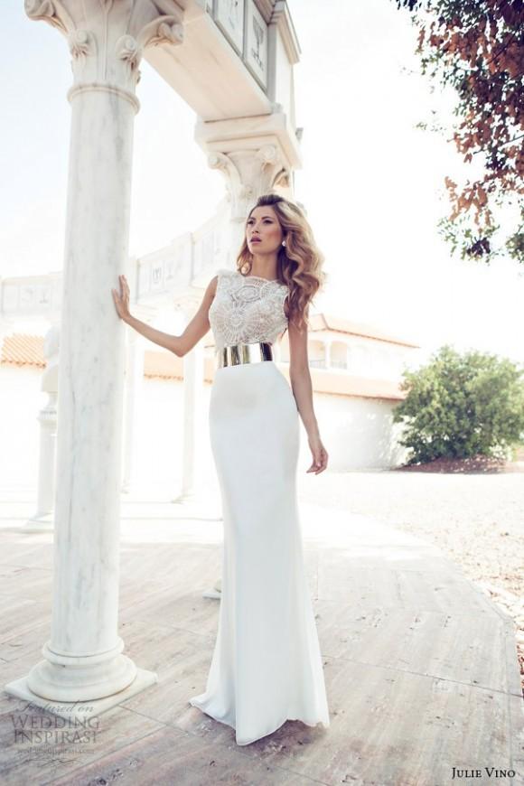 Áo cưới tuyệt đẹp và gợi cảm Julie Vino