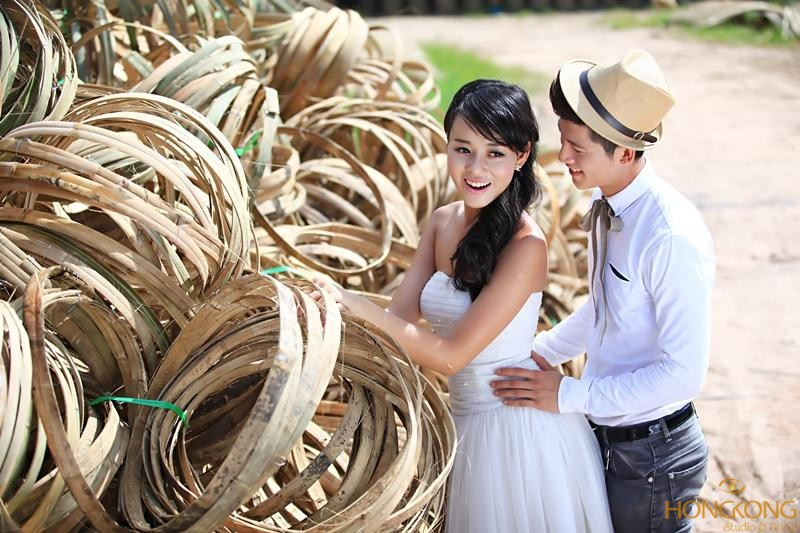 chup anh cuoi o lang nghe