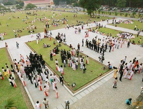 Kinh nghiệm chụp ảnh kỷ yếu ở hoàng thành Thăng Long