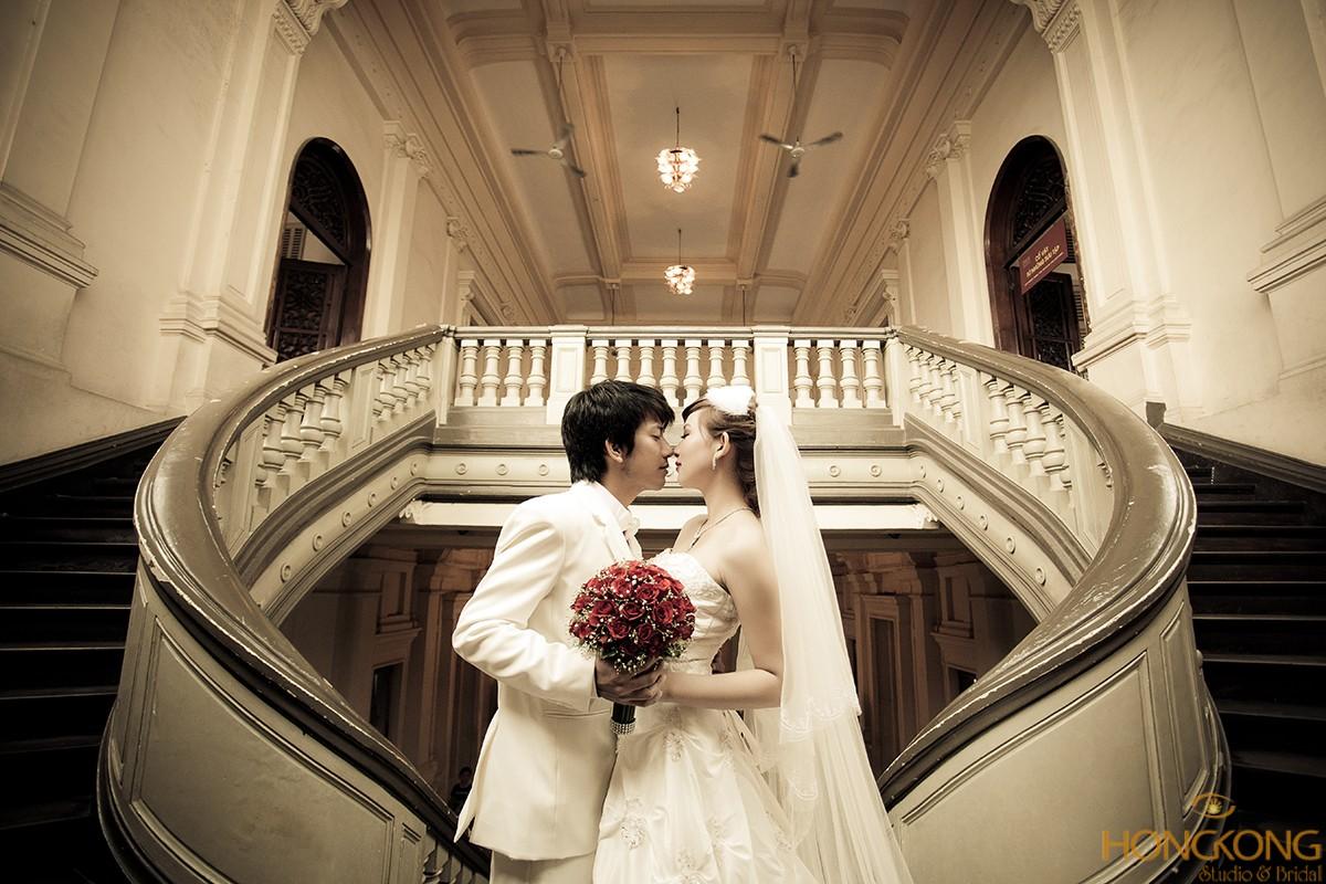 chụp ảnh cưới bảo tàng