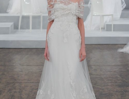 Say đắm với vẻ đẹp bay bổng váy cưới Monique Lhuillier