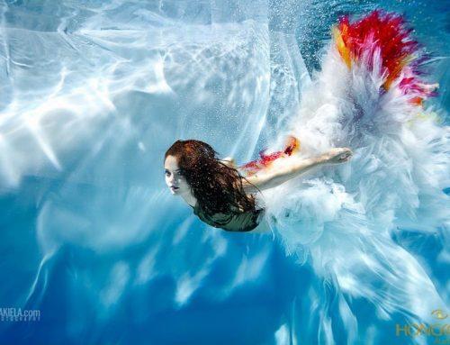 Điều khó nhất khi chụp ảnh thời trang dưới nước