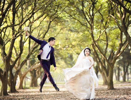 Chụp ảnh cưới ngoại cảnh đẹp rẻ tại Hà Nội