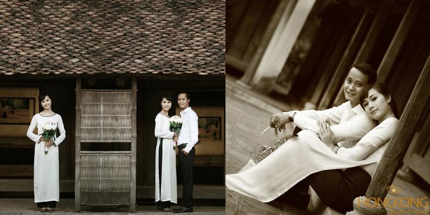 chụp ảnh cưới ở bảo tàng dân tôc học