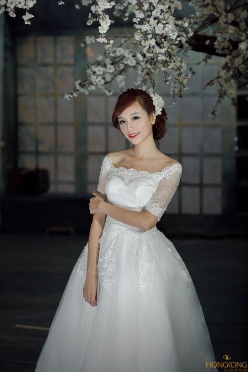 Kết quả hình ảnh cho áocưới cô dâu cổ thuyền