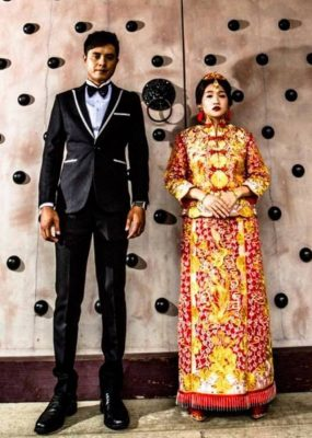 Bức ảnh khiến cô dâu quyết định kiện nhiếp ảnh gia.