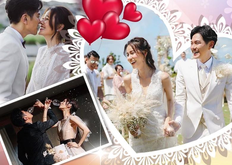 Huỳnh Thúy Như và Tiêu Chính Nam tuyên bố kết hôn từ năm ngoái, nhưng đến nay mới chia sẻ ảnh cưới mà không tiết lộ đã tổ chức lễ cưới từ khi nào?