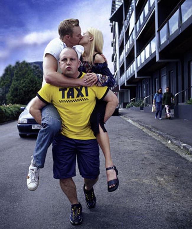 Taxi tình yêu là có thật đấy mọi người.