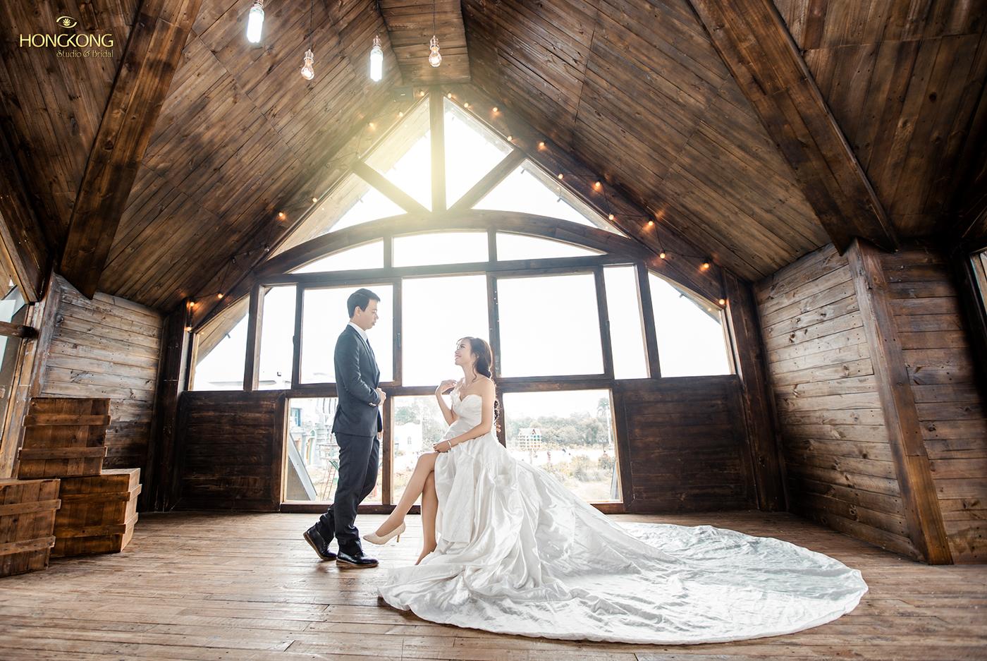 Chụp ảnh cưới tại Trill Rooftop Cafe