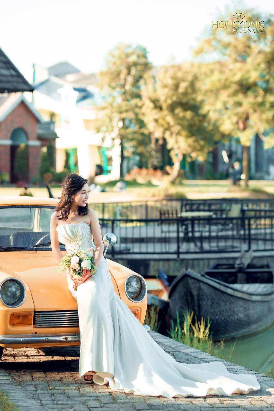 chọn váy cưới đẹp dáng quả chuối 1