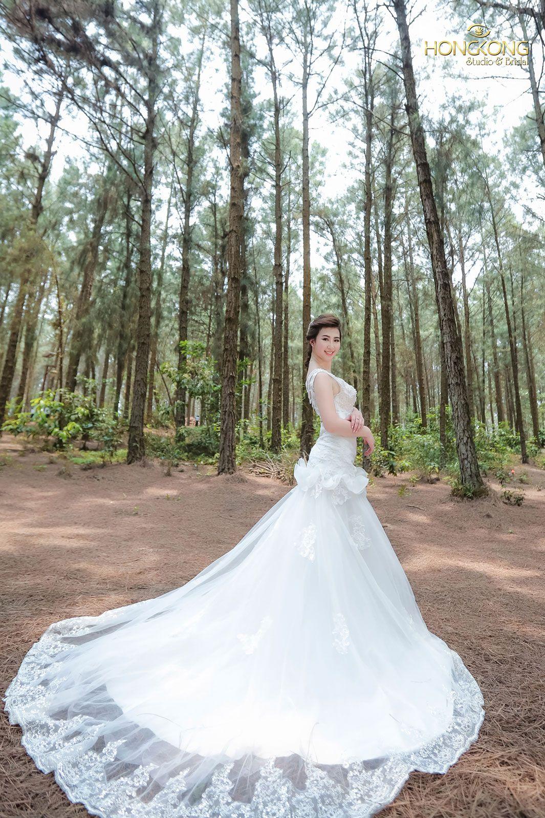 chọn váy cưới đẹp dáng quả chuối 2