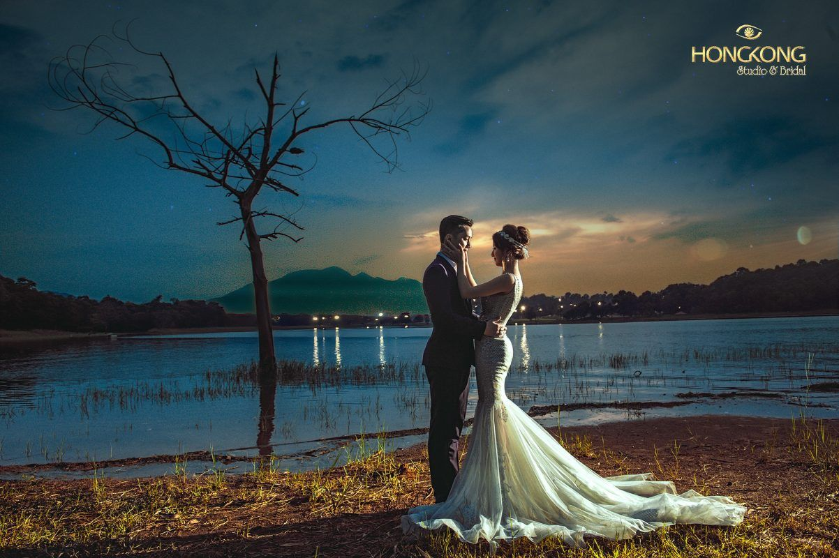 Hoàng hôn ở Sơn Tinh Camp