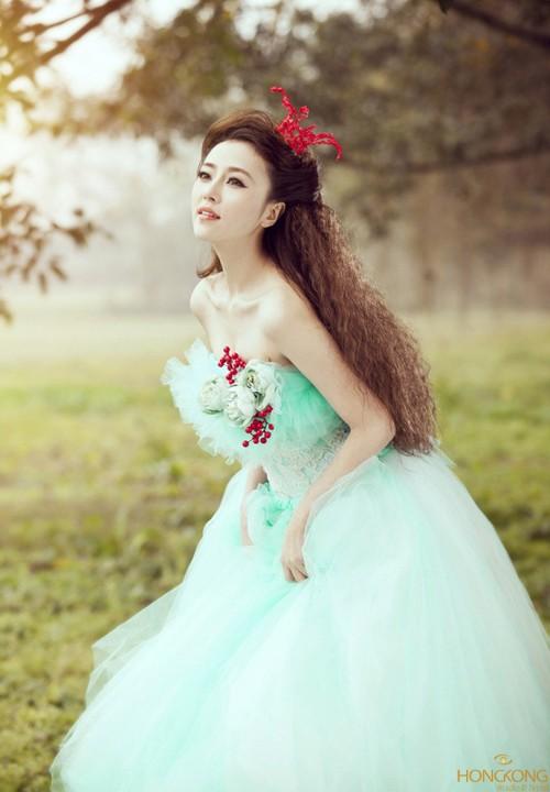 áo cưới cô dâu