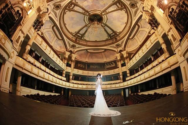chụp ảnh cưới nhà hát lớn