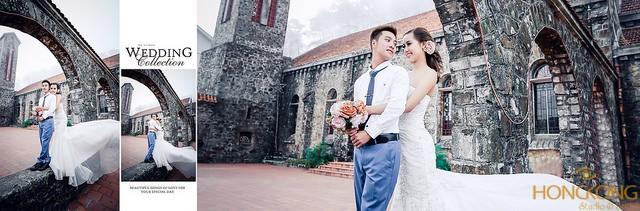 chụp ảnh cưới nhà thờ