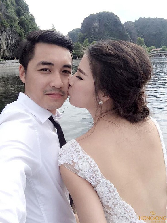 chụp ảnh cưới tự sướng