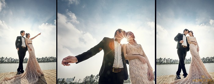chụp ảnh cưới valentine