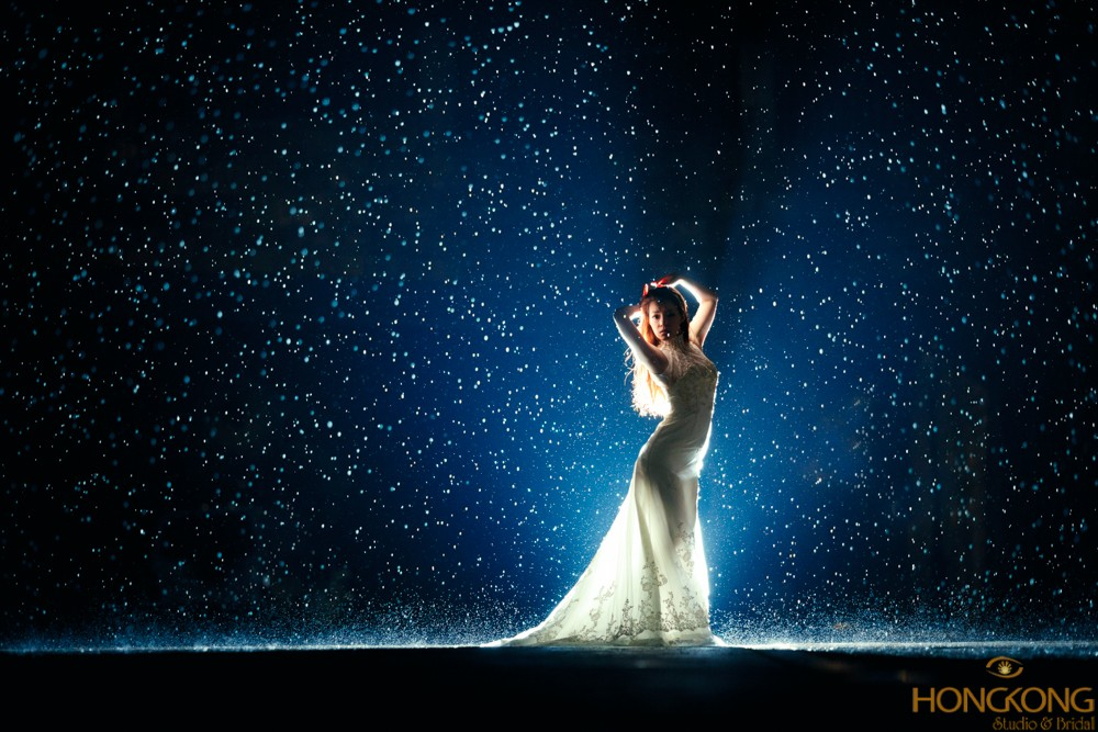chụp ảnh thời trang dưới mưa