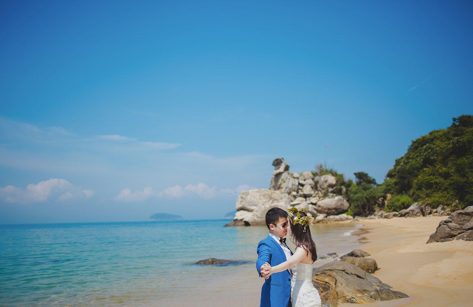 Những lưu ý khi chụp ảnh cưới ở biển