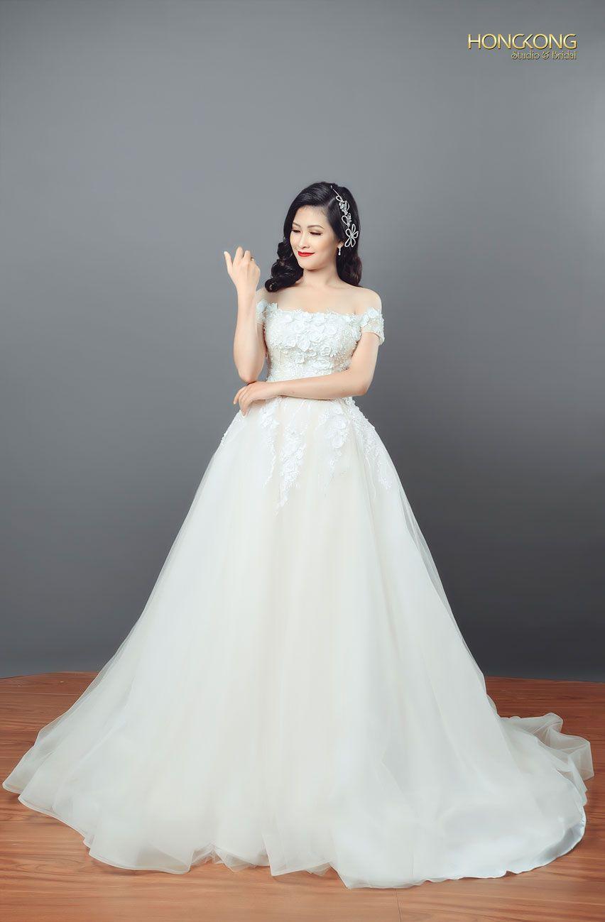 chọn váy cưới đẹp dáng quả cầu pha lê 2