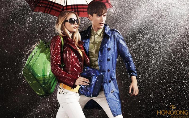 chụp ảnh thời trang mùa mưa