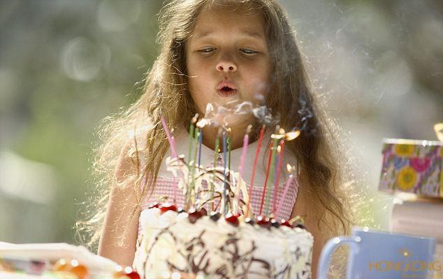 chụp ảnh sinh nhật