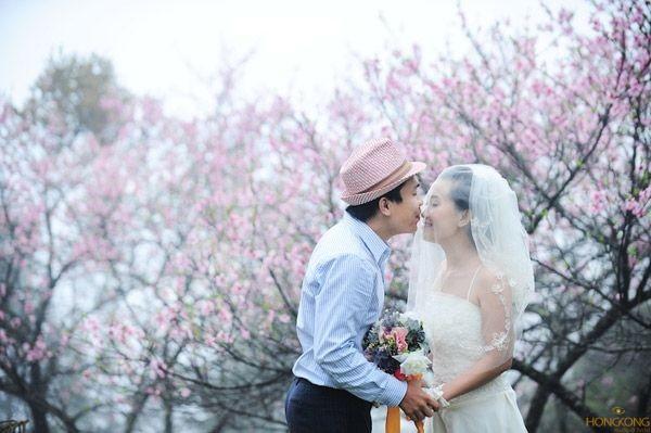 chụp ảnh cưới ngày tết