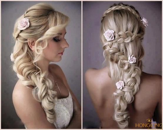 tư vấn tóc cô dâu