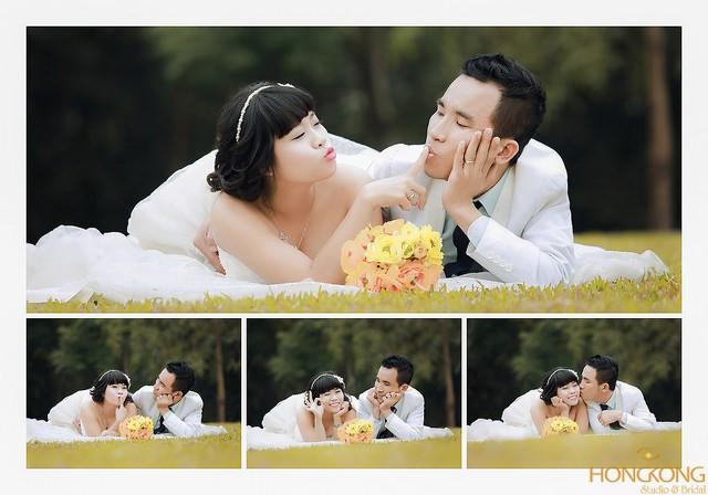 xu hướng chụp ảnh cưới
